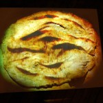 "video projection on clay, 7 min. 22"" x 30"", 2008."
