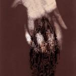 Digital still from Under My Skin, digitally animated sequence, 2004.